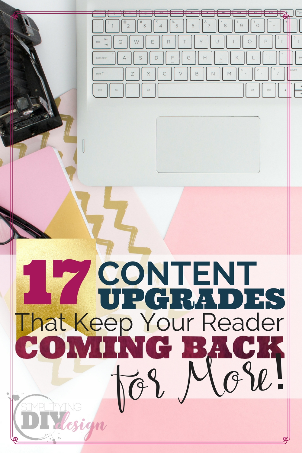 Awesome, so many things on this list have my brain sparked!! Ideas for content upgrades are coming to me like crazy, I'm so excited to grow my email list with these!!