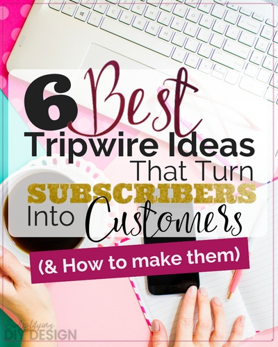 When it comes to the marketing part of my business, I struggled with how to make an income. I had my opt-in lead magnets but needed a way to turn subscribers into customer. Then I found tripwires. This this of tripwire ideas was exactly what I needed and I love the video tutorials included the post-- super helpful!