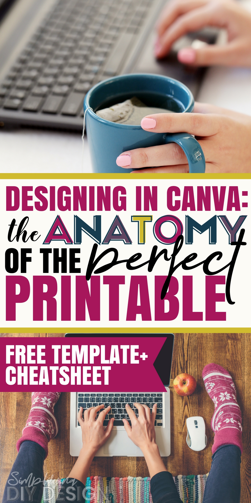 Taking the time to create a printable is SO important. If your printable doesn't stand out or if it's so unorganized and unprofessional looking then it will be hard to grow your blog. The perfectly designed printable has the power to grow your email list, help your readers take action, and help you generate income from blogging! Learn how to design a printable in canva!