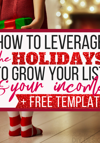 YES! Fourth quarter was always such a waste for my business but now that I know how to leverage it and use it to my advantage- my business is growing (and not just at holiday time!) DONT MISS the gift guide template, it's ahhmazing and saved me a ton of time designing my printable freebie opt in