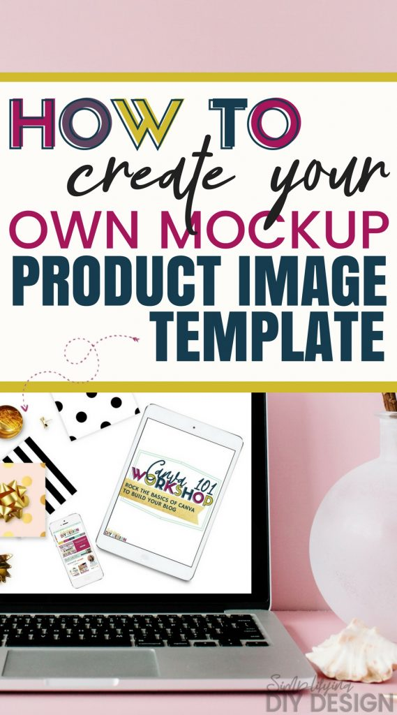 Start saving a ton of time by creating your own template for your mockup product photos. These will give your product photos a level up and make them eye-catching and convert higher. Which means more sales and more money!