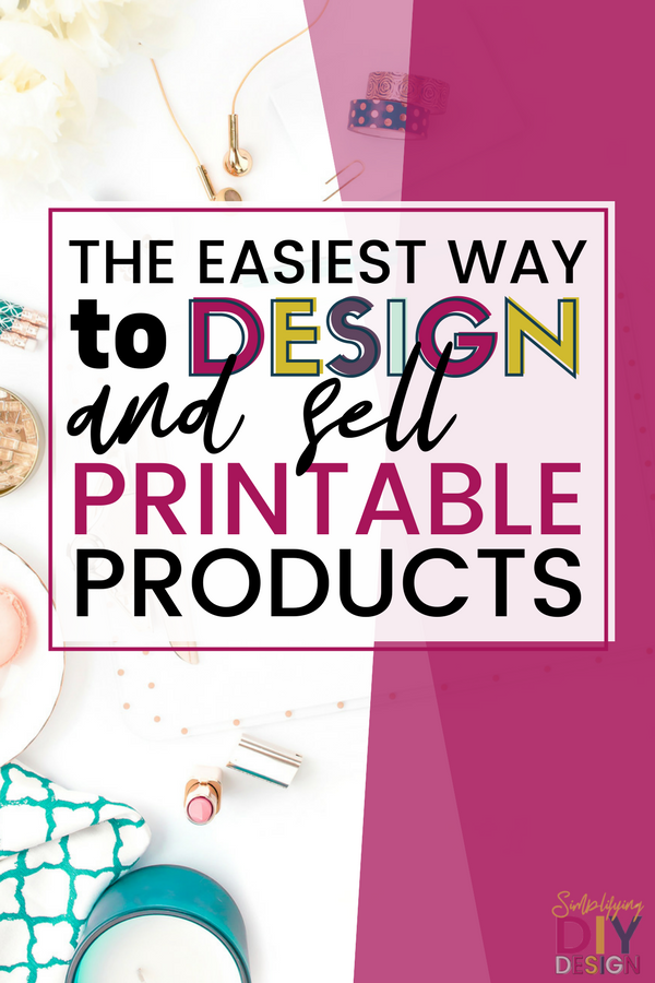 Learn how to use printable products to grow your blog. They are the best way to monetize a blog, especially when used as a tripwire or part of a funnel, they can create sustainable and recurring income and help you make money blogging. Digital products are easy and cheap to create which means more money for your blogging business! #printables #digitalproducts #design #blogdesign