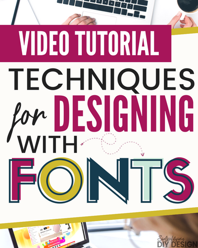 Design Lab 05: Techniques for Designing With Fonts