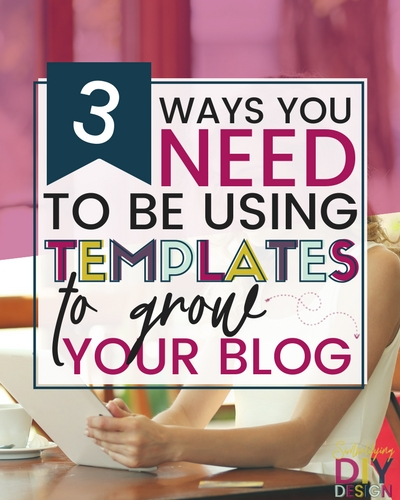 Using Canva Templates specifically designed to grow your blog can be a complete game changer. Increase your blog traffic, grow your email list, and make more money blogging from home. It's completely possible to grow your blog fast even if you have absolutely no idea how to design. #canvatemplates #designforbloggers #socialmedia #growyourblog