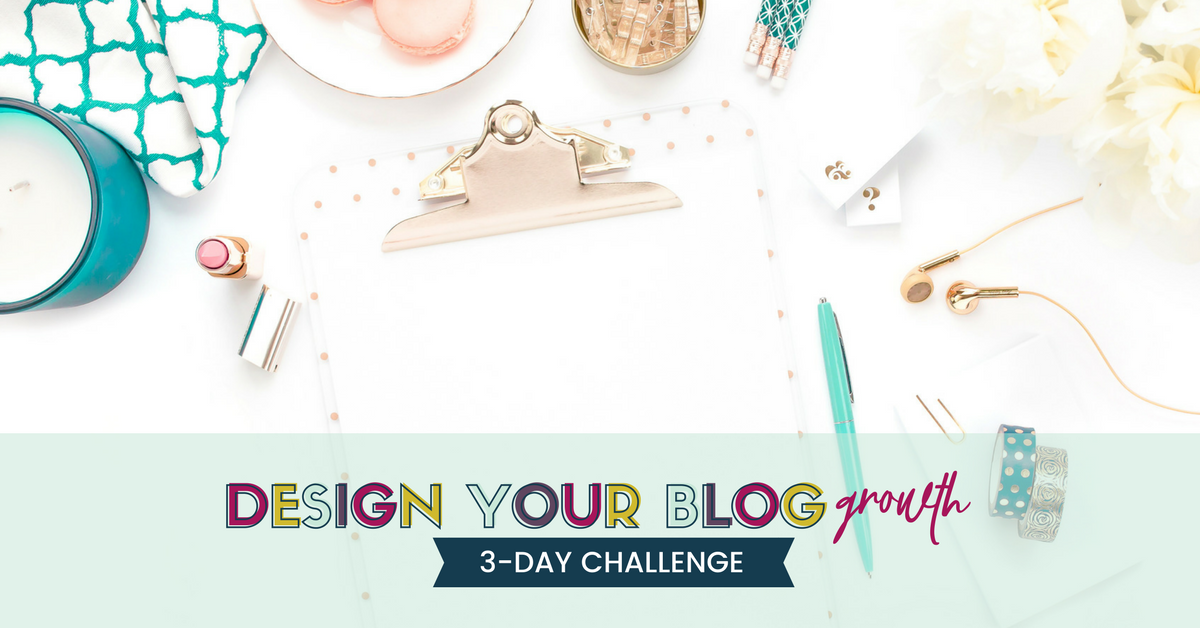 Title of image: Design Your Blog Growth
