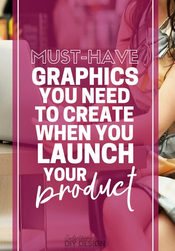 Find out exactly what graphics you need to create when you launch your first digital product in order to have a successful launch. The graphics matter and when you are ready to launch your first project, you want to make sure you nail every detail. These are the graphics I created for my 5-figure first-ever launch on a 6 month old blog! #digitalproduct #launch #e-product #blogging #templates