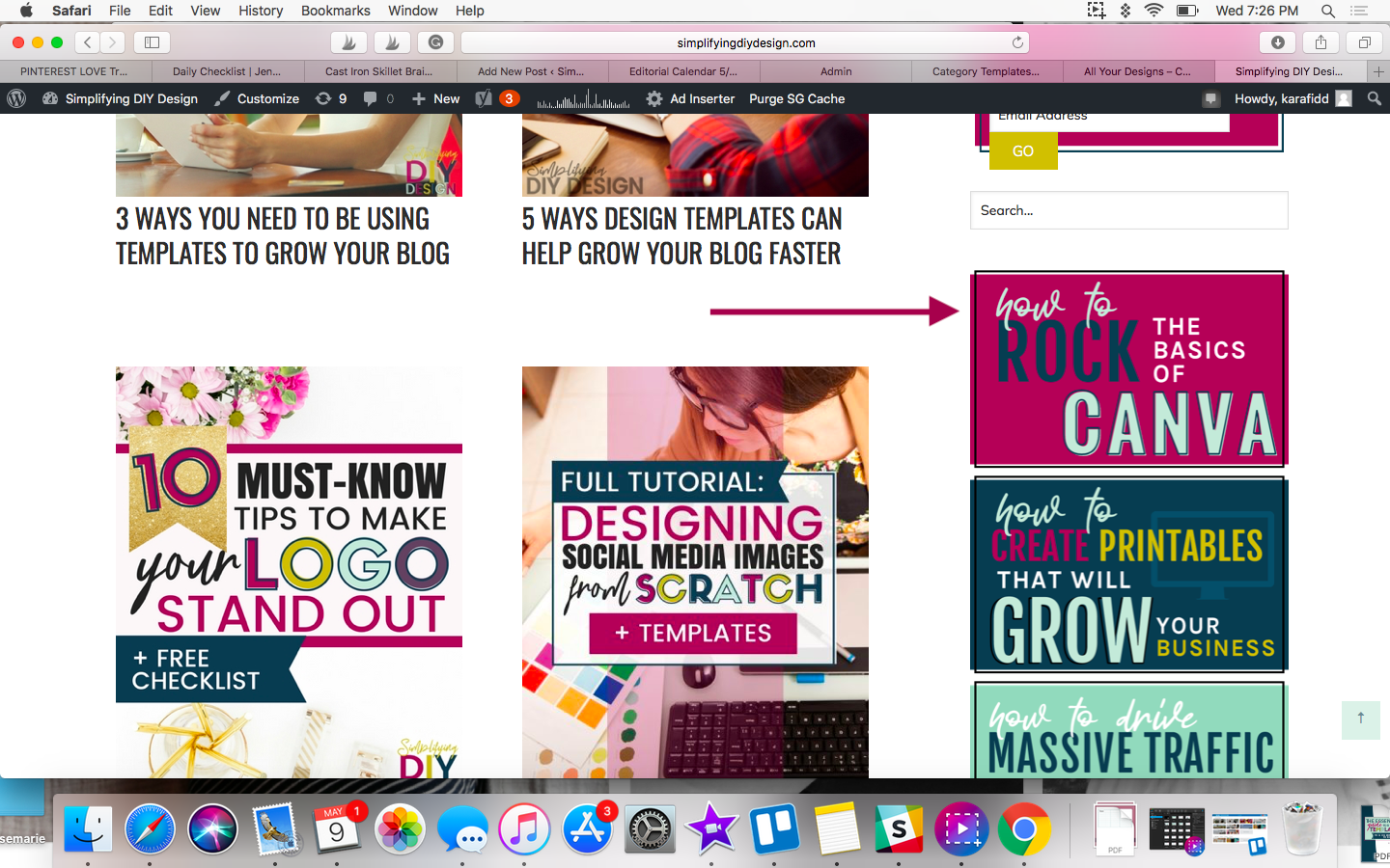 Design for Bloggers | Make These Simple Changes To Your Blog