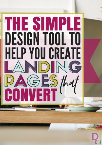 Learn how you can create stunning, high converting landing pages using this simple design tool. You don't need to be a designer or know any code to rock this landing page tool! Start growing your list and making more money fast! #landingpage #squeezepage #optinpage #landingpagedesign #designtools