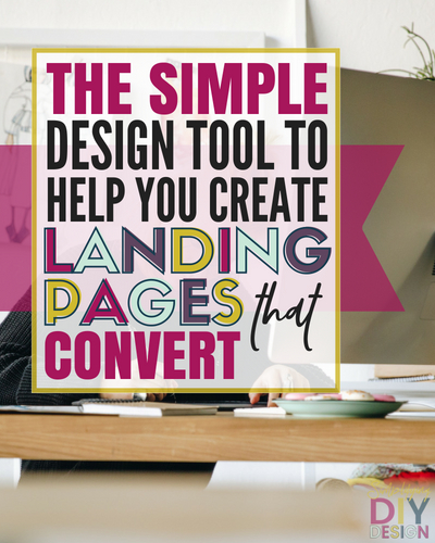 The Simple Design Tool to Help You Create Landing Pages