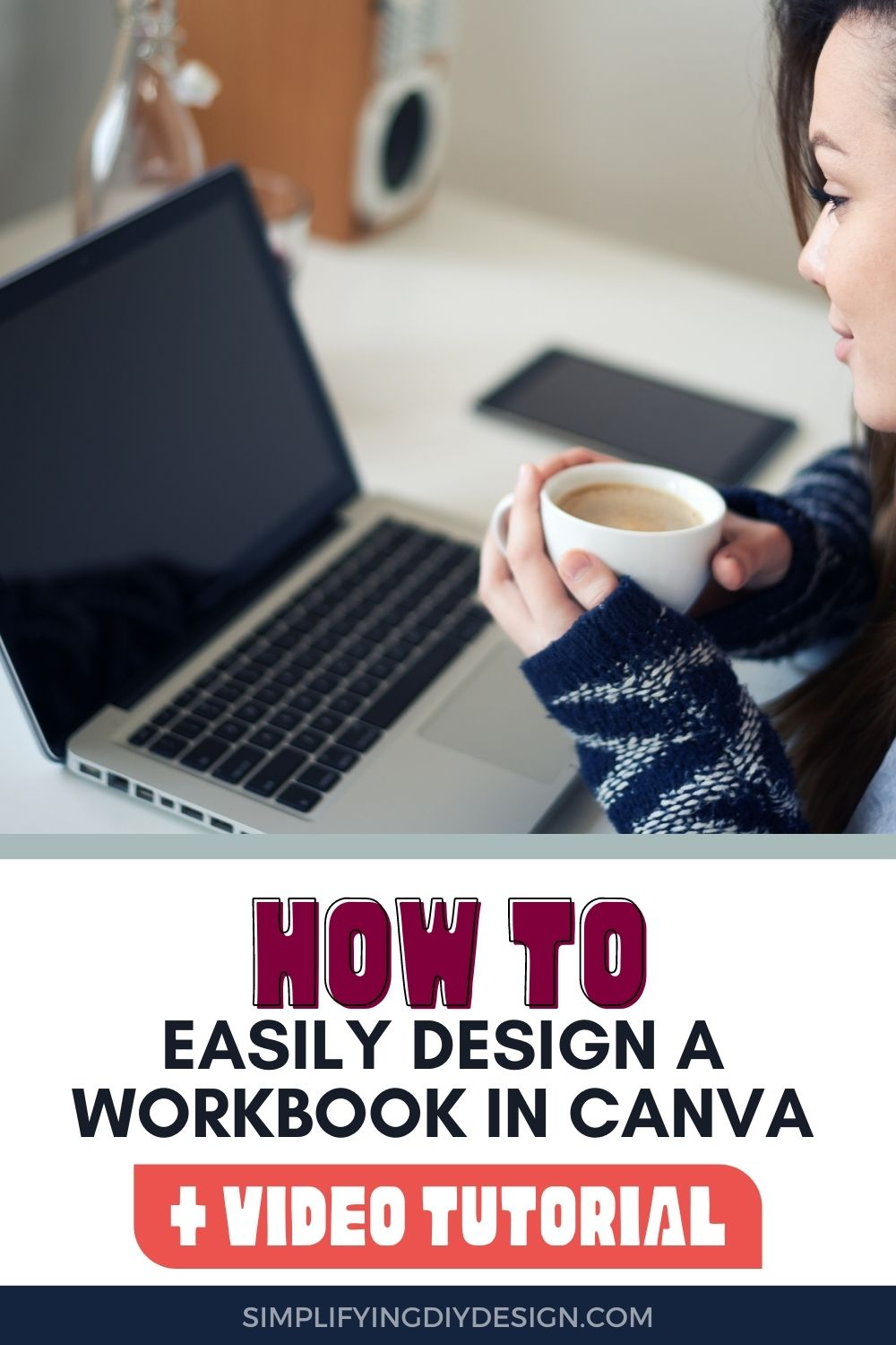 If you're a blogger that is making Digital products or lead magnets then you won't want to miss this post! Find out exactly how to design a workbook in Canva- it's so much easier than I thought!!