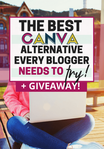 Find out what canva alternative I recommend! Every blogger needs to design in order to grow their blog, from social media images to lead magnets and digital products-- have simple to use design tools with awesome capabilities is important. This canva alternative is something every blogger needs to check out! #designtools #designforbloggers #canvaalternative