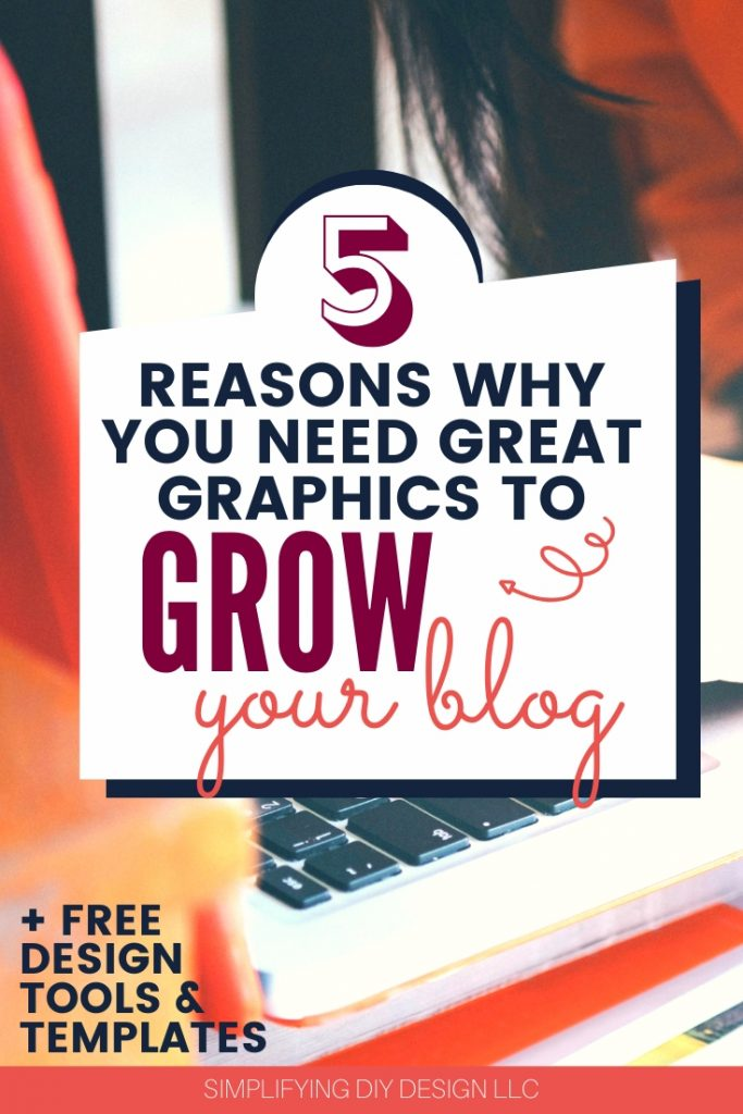 If you're wondering why you need great graphics to grow your blog you need to read this ASAP!! I had no idea graphics were THIS important to traffic, conversions, and even sales!! Game changer!