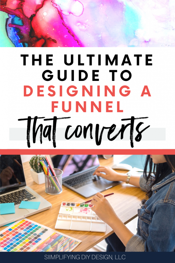 Find out the ten steps to designing a funnel that converts! If you want to create a profitable blog then you need to memorize this article, SO MANY great resources for a solid blog growth strategy that actually works!!