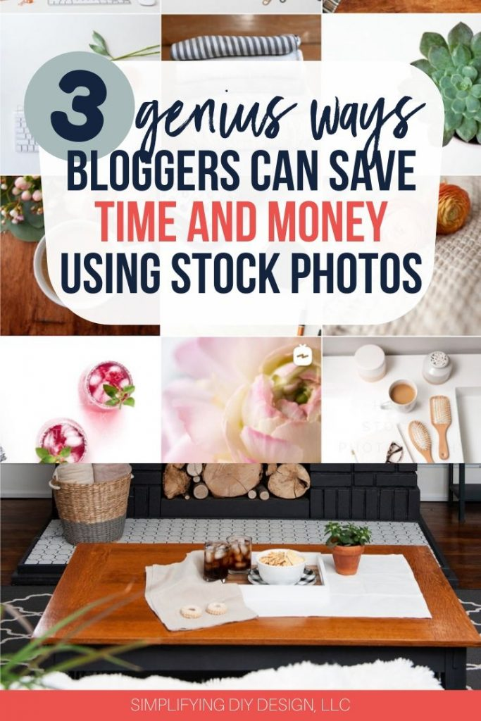 Learn the absolute BEST ways that bloggers can save time using stock photography! Stock photos are so important to blogging: they increase traffic, conversions, and provide brand consistency, PLUS they save time!