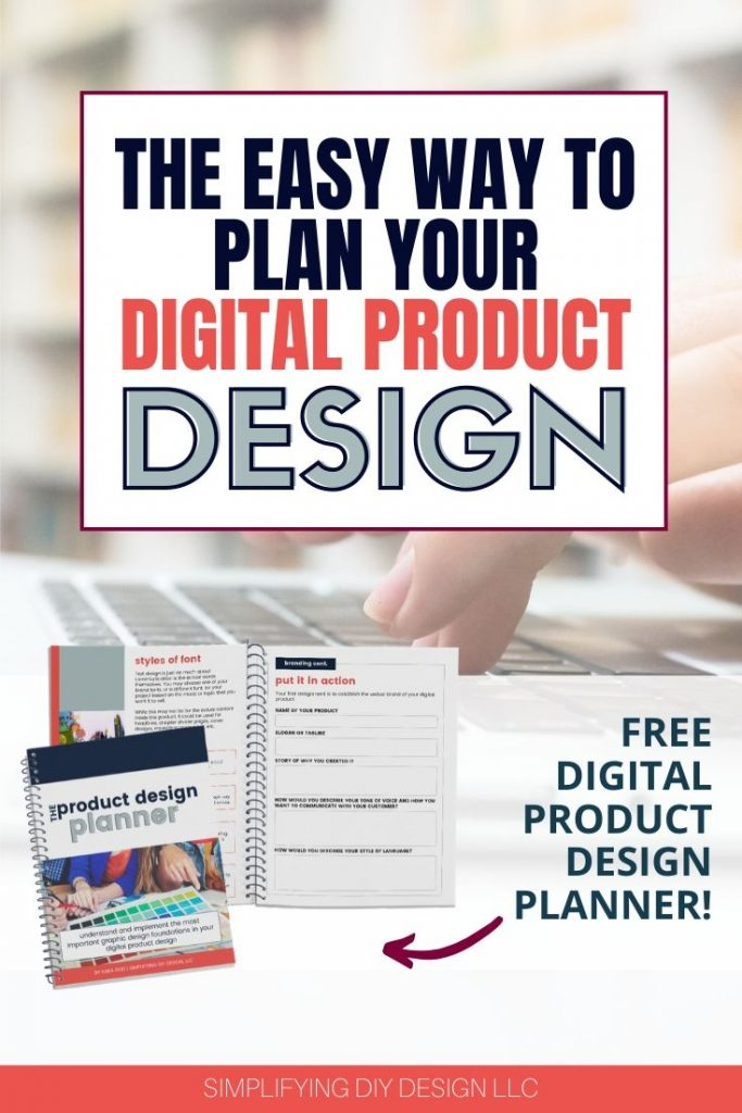 Learn how to plan your next (or first) digital product design! This is my step by step process for branding and designing digital products that you can start implementing for your blog right away!!