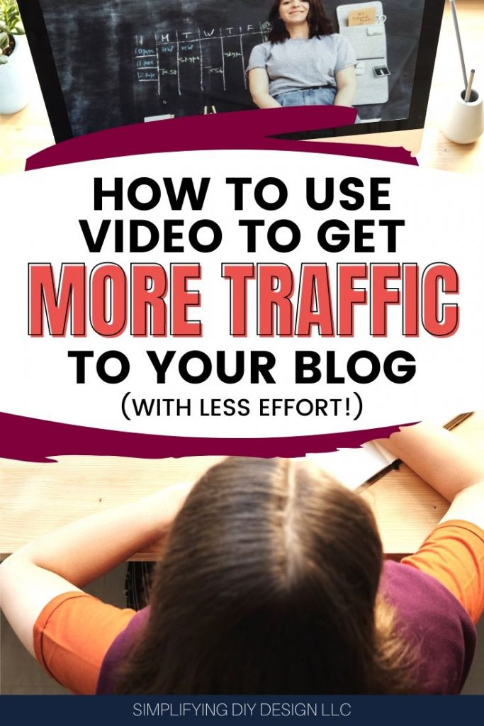 Find out how to get more traffic to your blog by simply creating video content and promoting it with a visual strategy that gets more clicks, email subscribers, and sales! Plus find out how to save time designing these promotional graphics!!