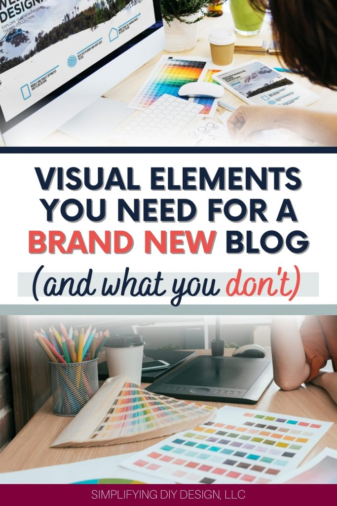 Wondering where to start when it comes to design for your brand new blog? READ THIS FIRST!! Find out exactly what design you should be doing as a brand new blogger looking to build a blogging business!