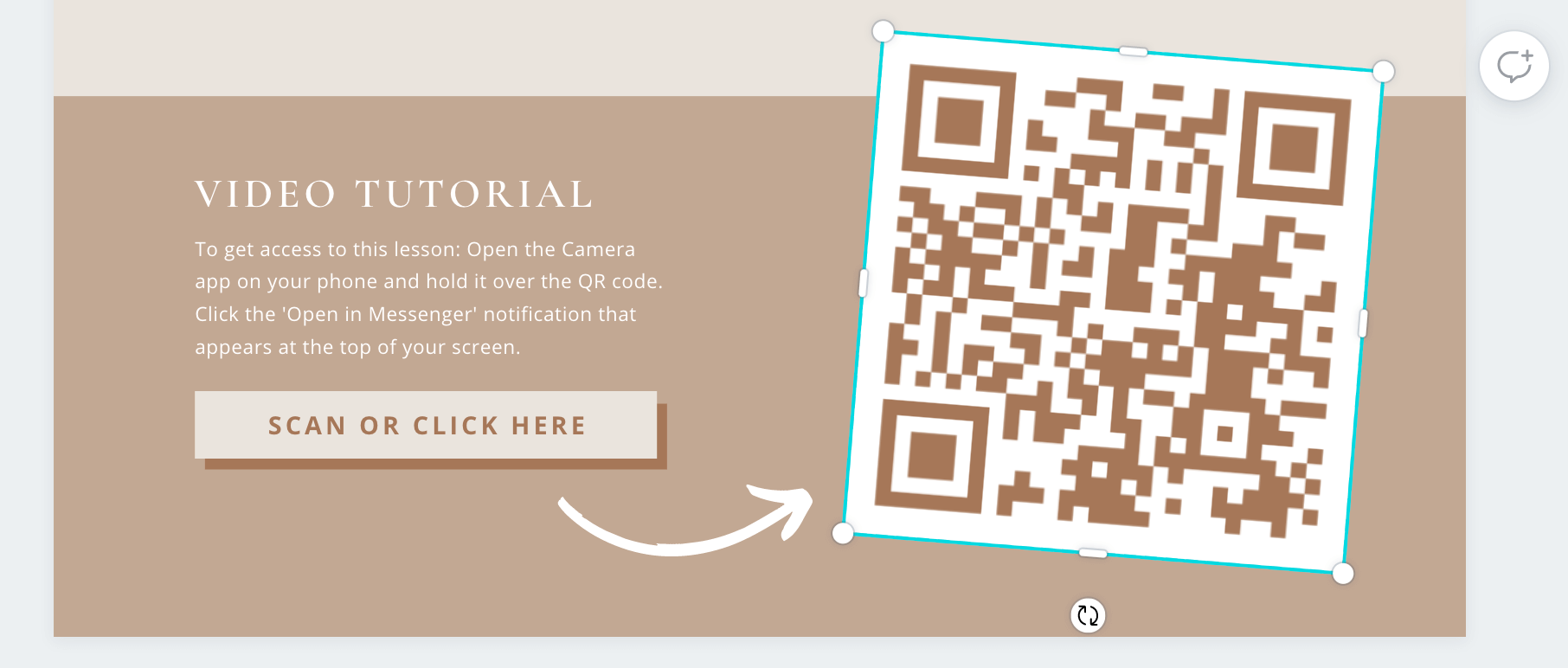 How to use QR codes in your digital products to turn subscribers into buyers! Learn to easily design with QR codes to boost conversion rates!